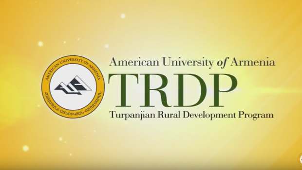 AUA Turpanjian Rural Development Program's New Film Reflects TRDP's 10 Years of Advancement