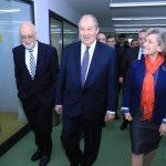 Armen Sarkissian, RA Presidential Candidate, Visits AUA