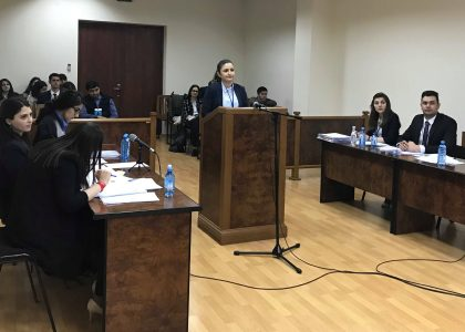 AUA LL.M. Team Crowned National Champion of Jessup Competition