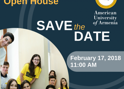 Undergraduate Programs Open House 2018