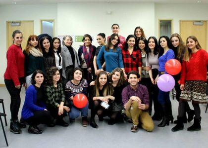 MA TEFL Students Hold Grammar Party to Develop Undergraduate Language Skills