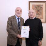 AUA President Dr. Der Kiureghian Presented with Eponymous Domain