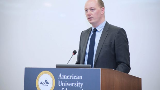 IMF Executive Director Discusses Armenia, Europe, Global Economy at AUA