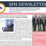 Gerald and Patricia Turpanjian School of Public Health (SPH) Newsletter, Issue 20, 2018