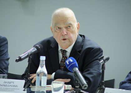 Press Conference: Republic of Armenia Centenary Lectures with Dr. Richard Hovannisian