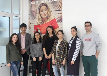 AUA's BAB Program Collaborates with Coca-Cola HBC Armenia