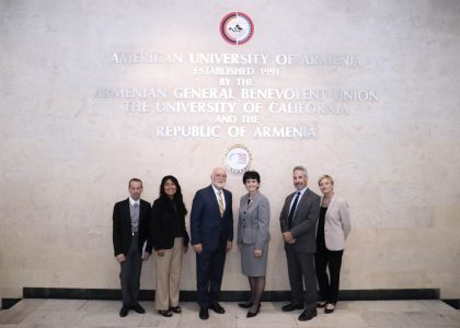 San Jose State University and AUA Discuss Possible Collaboration