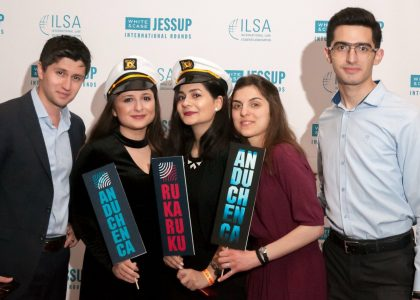 AUA LL.M. Students Participate in International Rounds of Jessup Competition in Washington D.C.