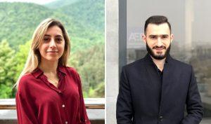 Elina Harutyunyan and Edward Poghosyan