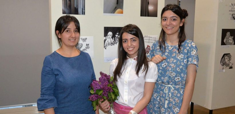 PSIA studentsHeghine Poghosyan, Saten Harutyunyan, Alvina Saakyan