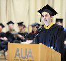 Aram Serobyan (MS CIS '19), graduate valedictorian