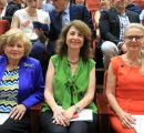 (l-r) Elizabeth Agbabian, Nelly Der Kiureghian, Dr. Karin Markides
