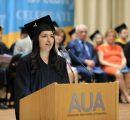 Shushanna Arakelyan (BAB '19), undergraduate valedictorian