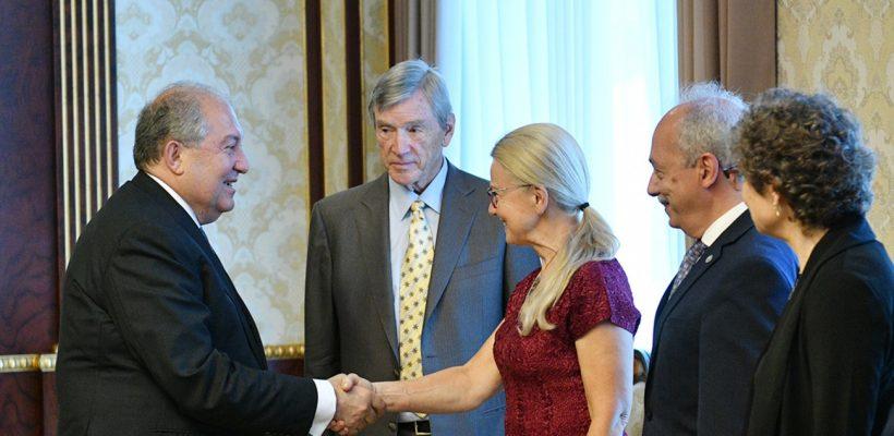 President meets with AUA Representatives