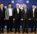 (l-r) Professor Junho Song, Professor Jae Young Kim, Dr. Armen Der Kiureghian, Dr. Se-Jung Oh, Dr. Suk Won Cha