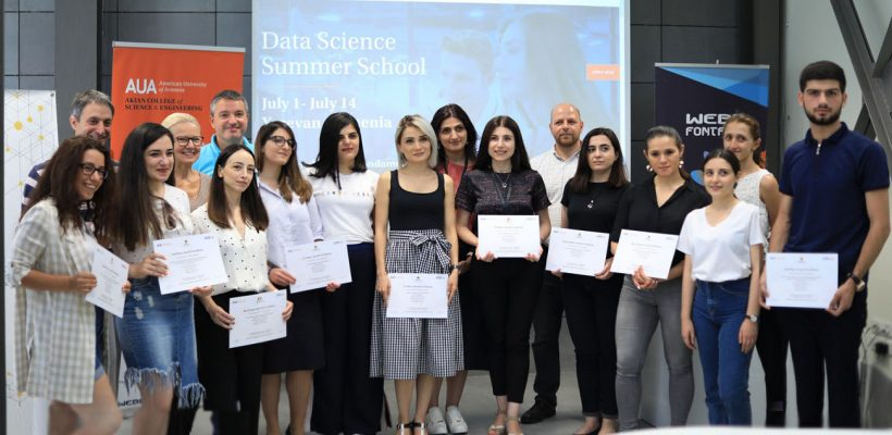 Winners of the Data Science Summer School 2019