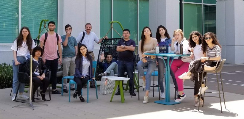AUA Students in Silicon Valley