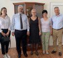 AUA Executive team visits regions and Artsakh (1)