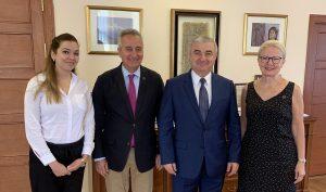 (l-r) Nona Poghosyan, Ashot Ghazaryan, Ashot Ghoulyan, Karin Markides