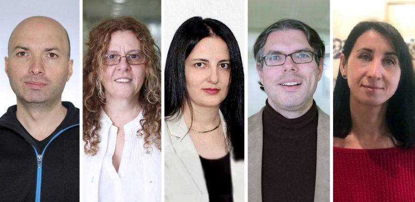 Dr. Vahram Ghushchyan, Dr. Hourig Attarian, Dr. Gayane Barseghyan, Dr. Mica Hilson, and Dr. Natella Mirzoyan