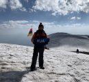 Narek Ghazaryan on Mount Ararat
