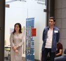 BAB Program Chair Dr. Knar Khachatryan and Babken Hambardzumyan
