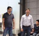 CS Program Chair Dr. Hayk Nersisyan and Suren Dombaev