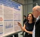 Aida Giloyan presenting her poster at EVER 2019