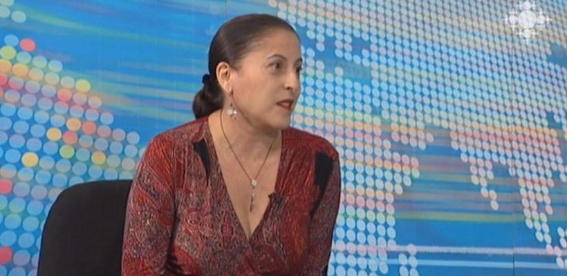 Loucine Hayes hosted on Shoghakat TV