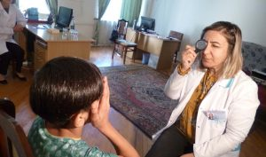 Meghrigian Institute conducts eye screenings