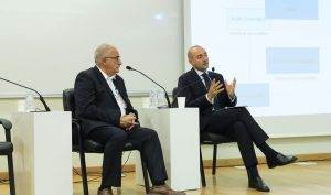 Michael Fucilli, Arman Vatyan at IIA-Armenia Fourth International Conference