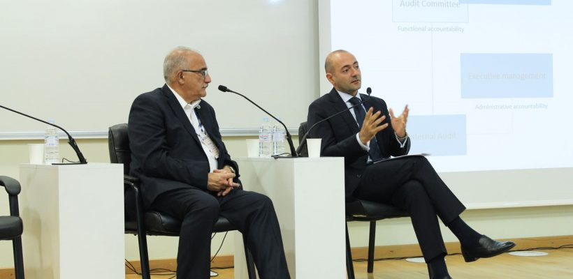 Michael Fucilli, Arman Vatyan at IIA-Armenia Fourth International Conference