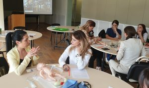 Training for neonatal nurses and midwives