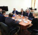 U.S. delegation meeting AUA President Karin Markides