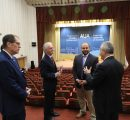 U.S. delegation visiting AUA