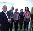 Opening ceremony of Louise Manoogian Simone's book collection corner