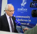 President of the Zoryan Institute Greg Sarkissian