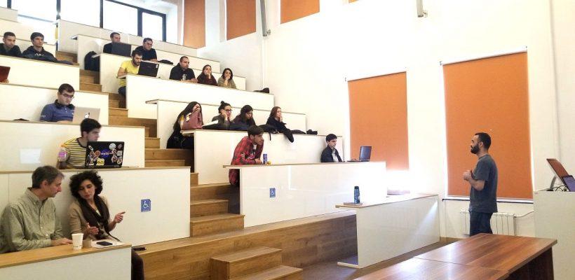Second workshop of Engineering Workshop-Seminar Series led by Hakob Avetisyan