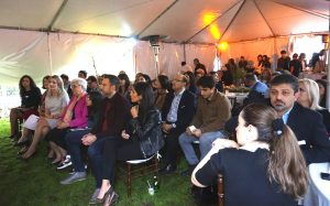 """At the event supporting AUA's """"Yes, Armenian Women Can!"""" campaign"""