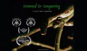 """Zareh Tjeknavorian's """"Crowned & Conquering"""" film poster"""