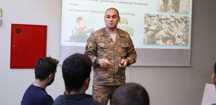 Lieutenant Colonel Davit Aleksanyan