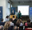 AUA President Karin Markides making opening remarks