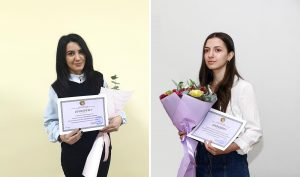 Anna Isahakyan and Emma Hovhannisyan