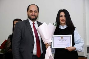 Arayik Harutyunyan and Anna Isahakyan