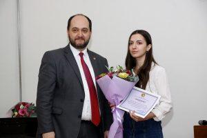 Arayik Harutyunyan and Emma Hovhannisyan