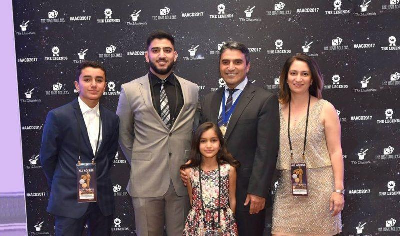 Baghdasaryan Family, from left Edward, Hayk, Arpi, Karen, Gohar
