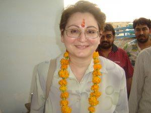 Nune Mangasaryan in India