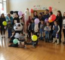 Resident Children of the Child and Family Support Center with PSIA students