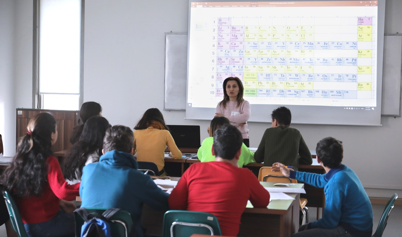 The first three-day workshop of the STEM Education for Armenian Youth Program