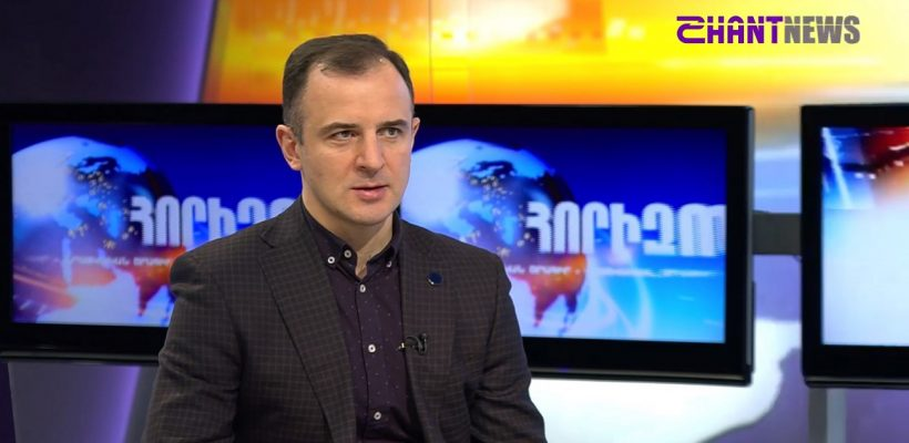 Vahram Ter-Matevosyan on Shant News